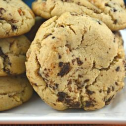 The Best Peanut Butter Chocolate Chunk Cookies