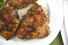 Garlic Chicken Thighs