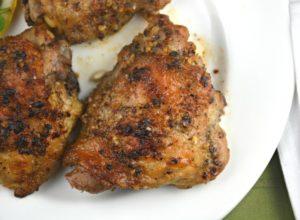 Garlic Chicken Thighs