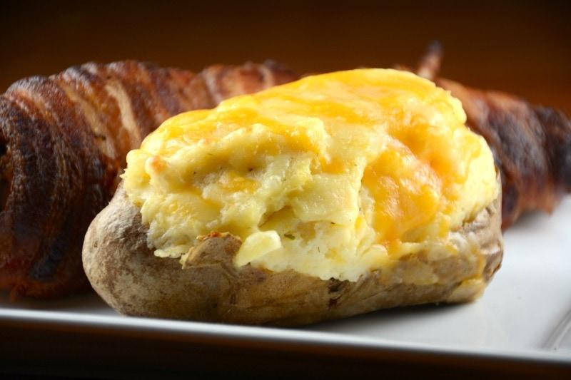Cheesy Ranch Twice Baked Potato Boats