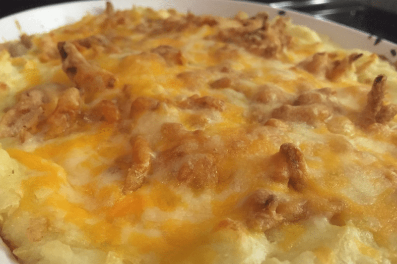 Supreme Mashed Potato Casserole