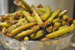 Sweet Garlic Balsamic Green Beans