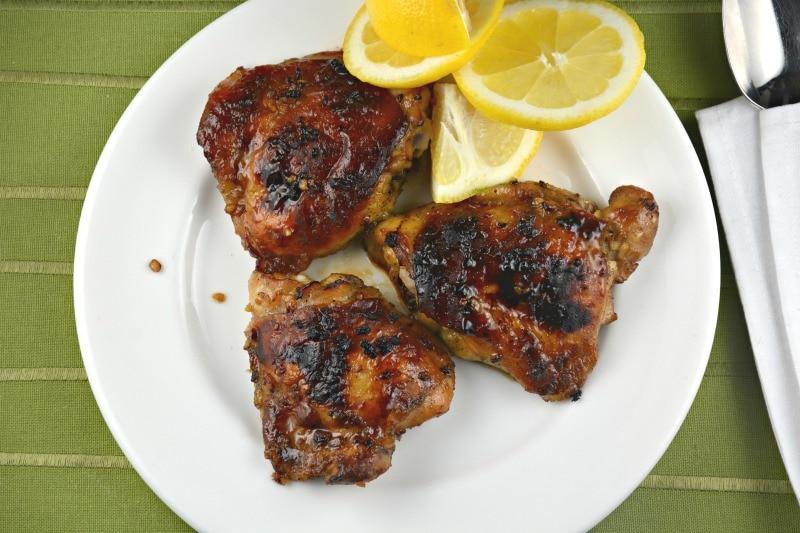 Honey Lemon Glazed Chicken