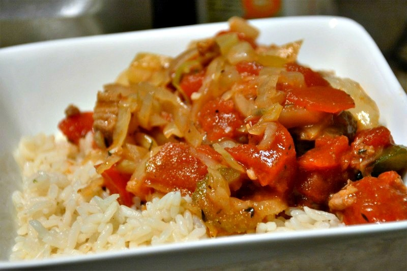 Slow Cooker Cabbage Roll Stew