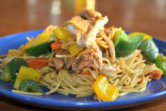 Shannon's Simple Chicken Stir Fry with Ramen Noodles