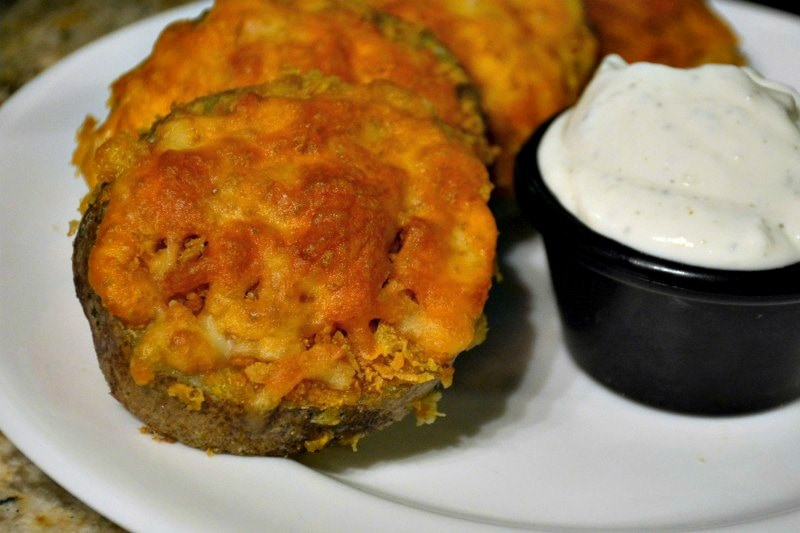 Crunchy Cheesy Potatoes