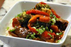 Slow Cooker Mongolian Inspired Beef