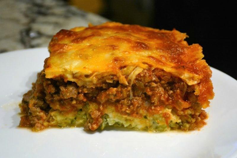 Meaty Zucchini Casserole