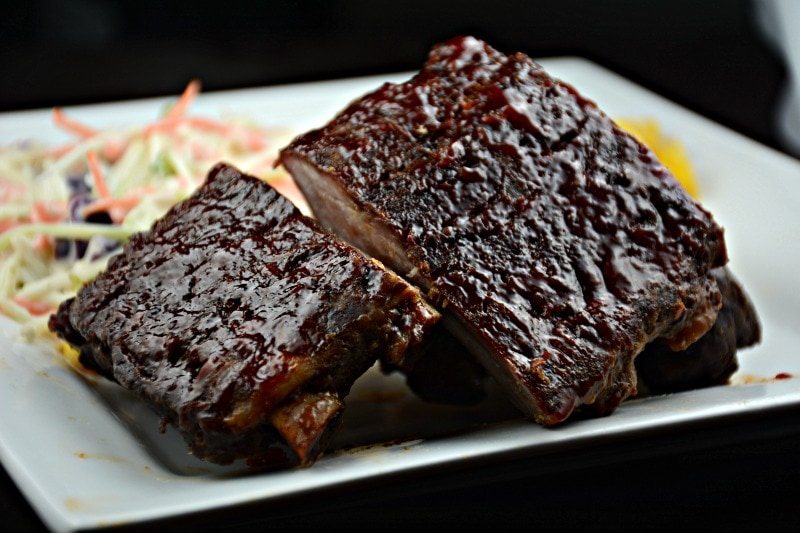 The Ultimate Oven Barbecued Ribs