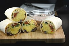 Taco Breakfast Burrito