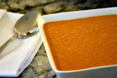 Slow Cooker Moroccan Tomato Soup