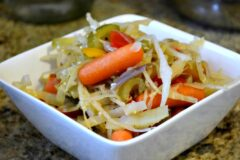 Easy Cabbage and Vegetables