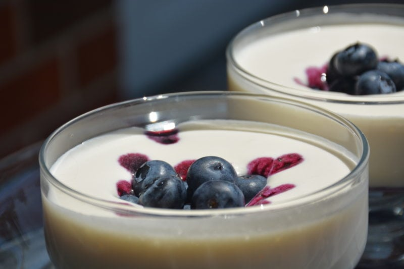Creamy Blueberry or Raspberry Dream