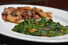 The Best Sautéed Spinach