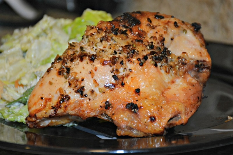 Garlic Oregano Baked Chicken Breast