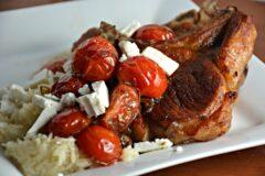 Balsamic Tomato Pork Chops