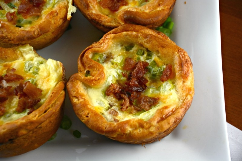 Cheesy Bacon and Egg Biscuit Muffins