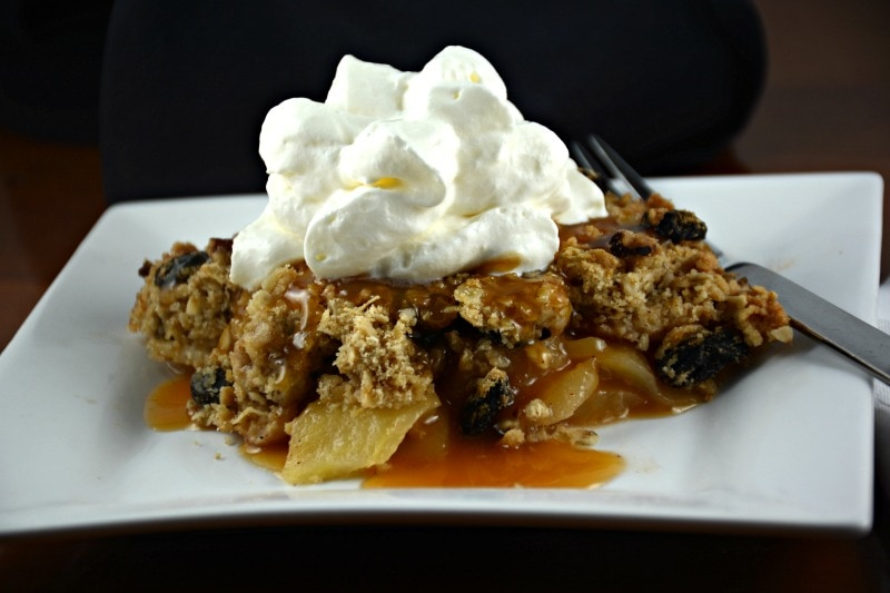 Crunchy Apple Bake