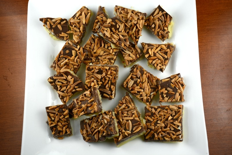Nutty English Butter Toffee