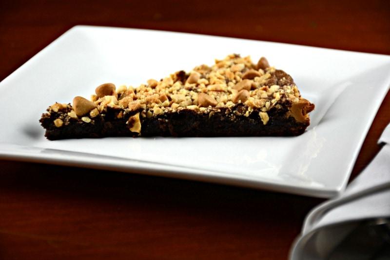 Nutty Brownie Pie
