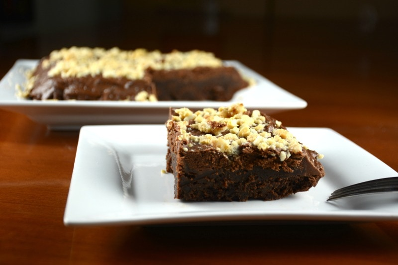 Nutty Fudgey Brownies