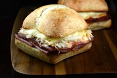 The Best Toasted Reuben Sandwich