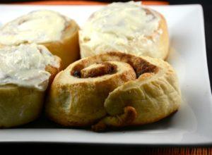Cream Cheese Cinnamon Buns