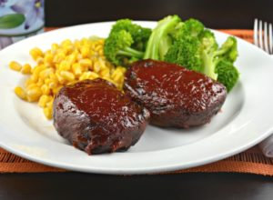 Redcoated Pork Chops