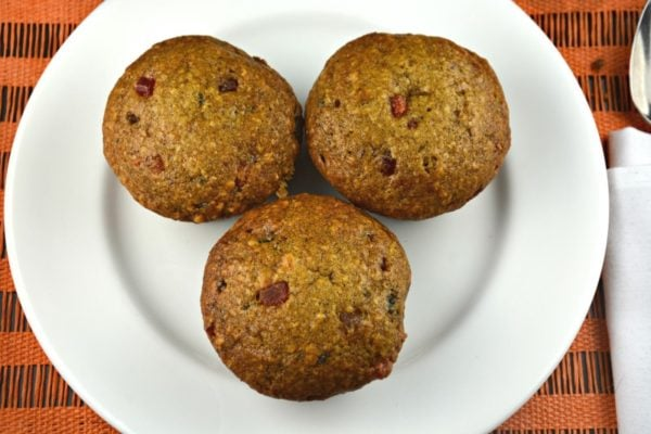Fruity Nutty Date Muffins