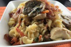 Our Favorite Loaded Pasta Carbonara