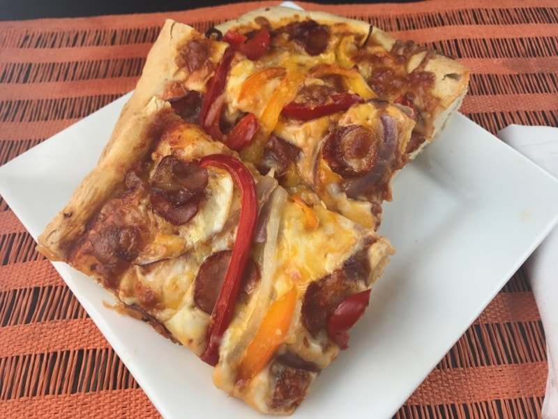 Quick and Easy Homemade Pizza in One Hour