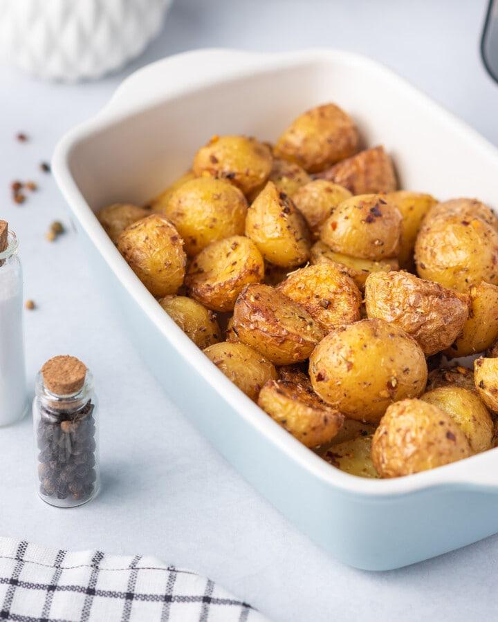 photograph of little potato recipes