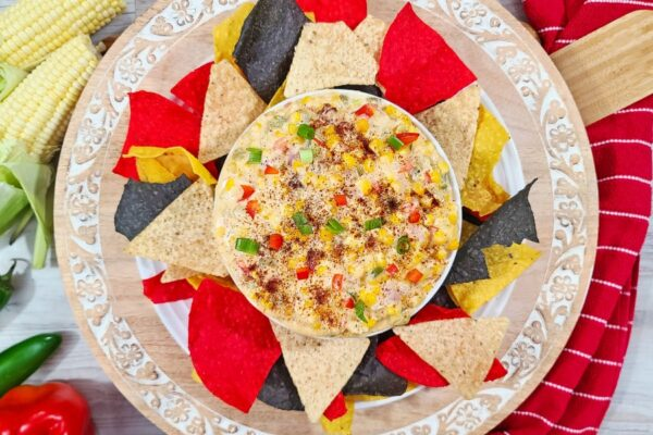 Easy Cream Cheese Hot Mexican Corn Dip Recipe