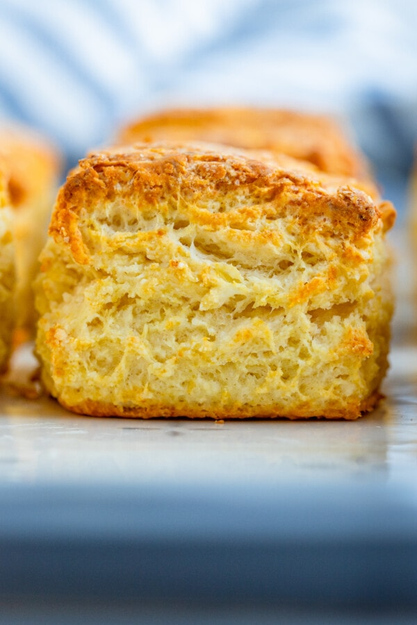 Flakey layers of pastry