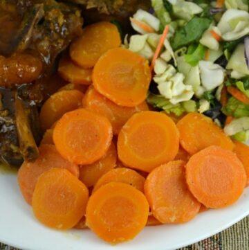 delicious glazed carrots
