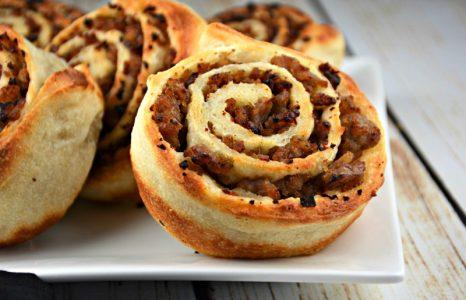 Easy Hamburger Pinwheels