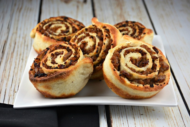 Easy Hamburger Pinwheels