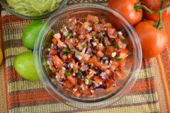 Easy Tomato Salsa