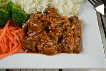 Barbecue Skillet Beef