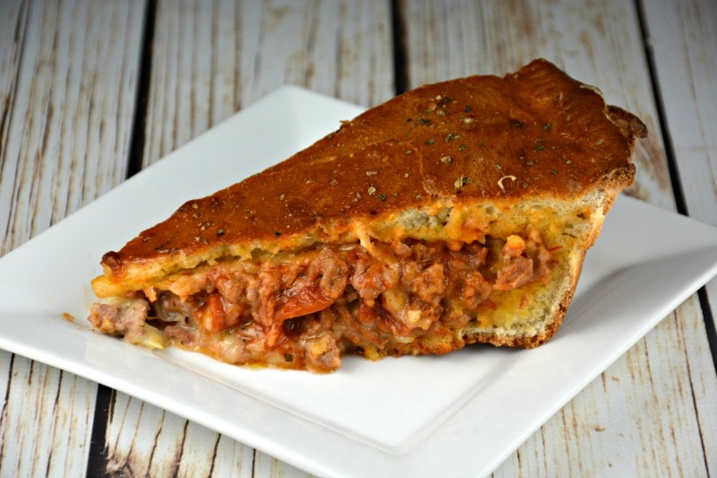 The Ultimate Calzone