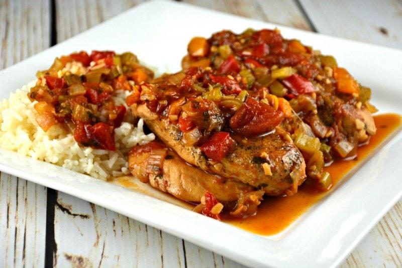Cajun Chicken Skillet
