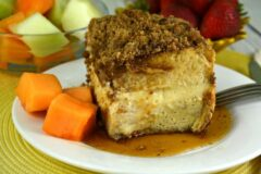 The Best Overnight Cream Cheese Stuffed French Toast