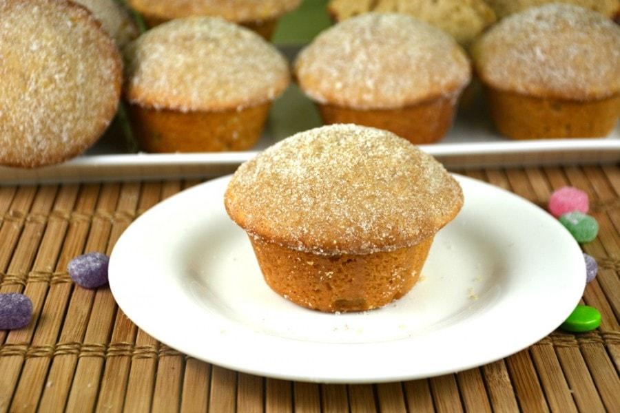 Coffee Doughnut Muffins
