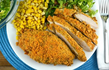 Ritzy Parmesan Chicken