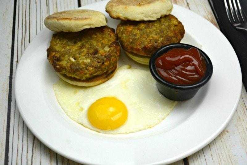 Loaded Breakfast Burgers