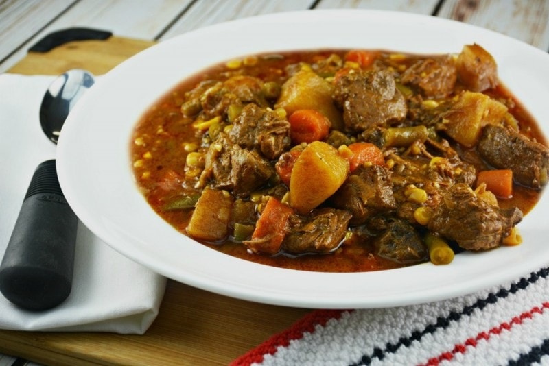 Slow Cooker Beef, Beer and Onion Stew
