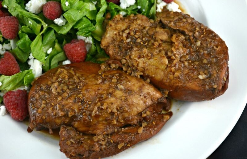 Slow Cooker Raspberry Chicken