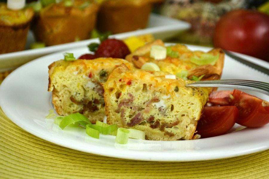 Crescent Breakfast Muffins