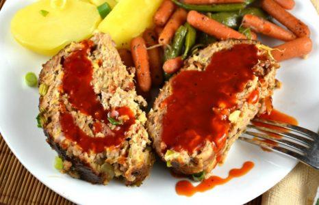Glazed Hawaiian Pork Roll