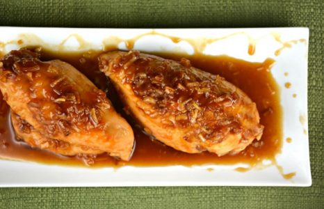 Quick and Easy Apricot Chicken